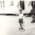 Играю в бадминтон (лето 1978)