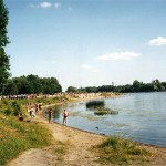 Пляж на реке Которосль