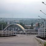 Железнодорожный вокзал в Луганске