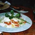 Салат в ресторане