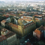 Вид на город со смотровой площадки телебашни