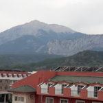 Вид из номера на горы