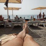 Лежу на пляжу!