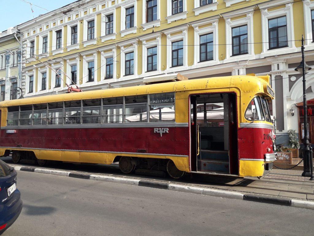 Трамвайчик в Нижнем