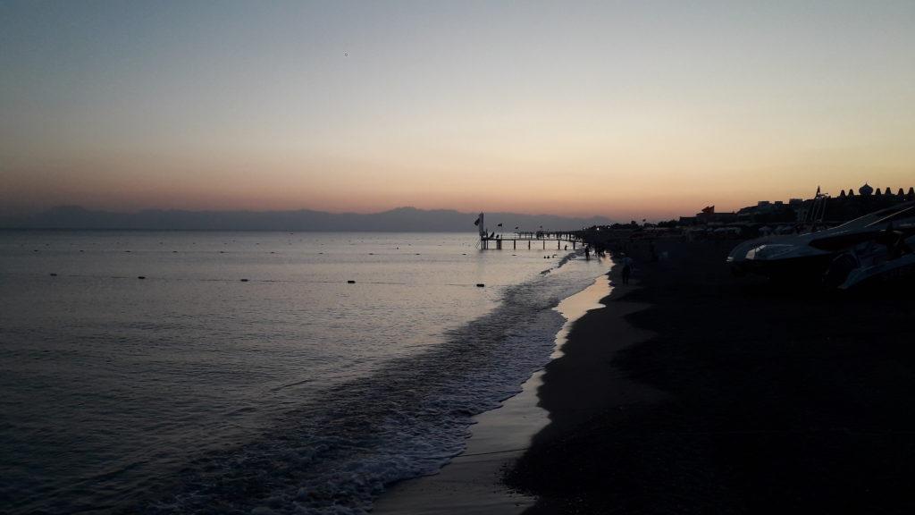 Вечерный пляж