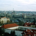 Вид на город от Пражского Града