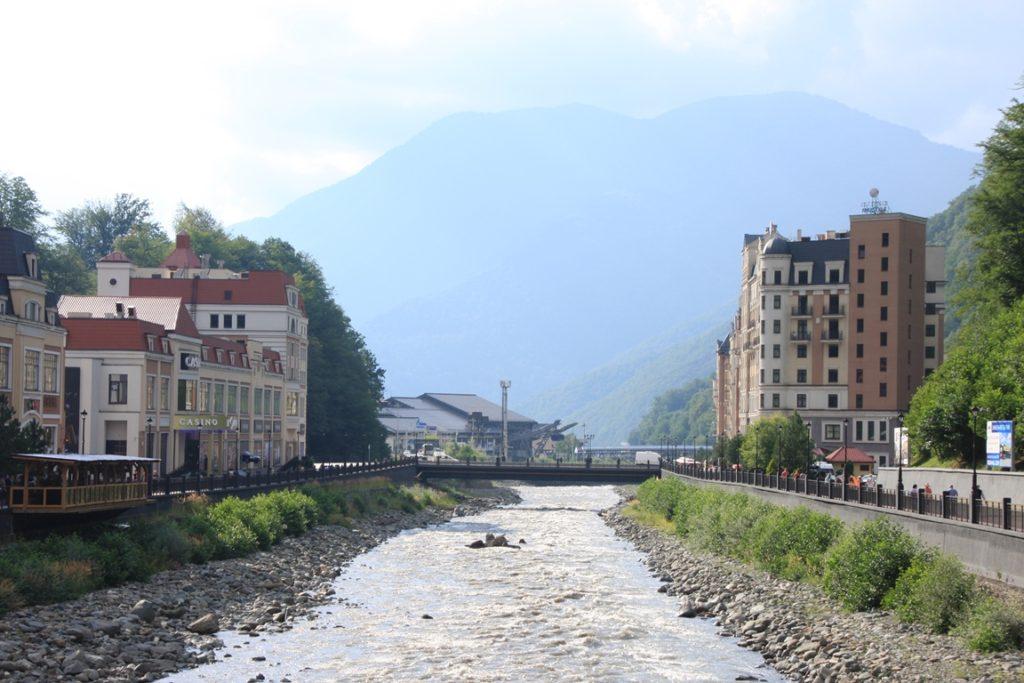 Роза Хутор и река Мтымза
