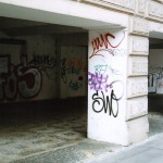 Граффити - обычное явление в Праге