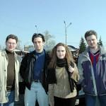 Наш экипаж: Стас, я, Ира, Игорь
