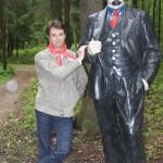 Я и Ленин!