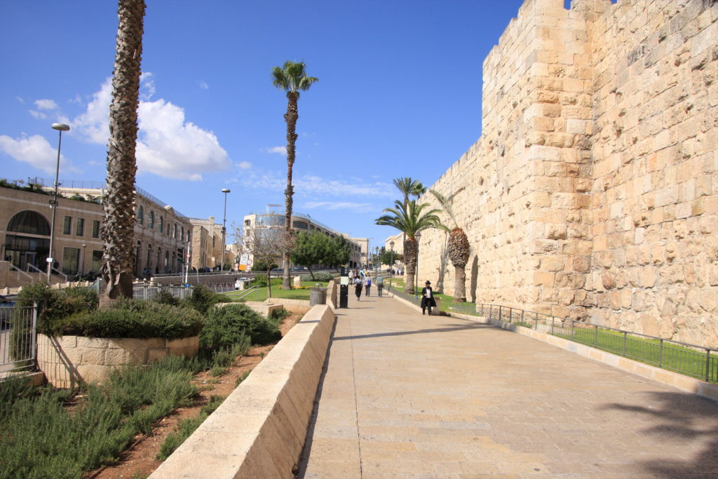 Иерусалим - начало Старого города