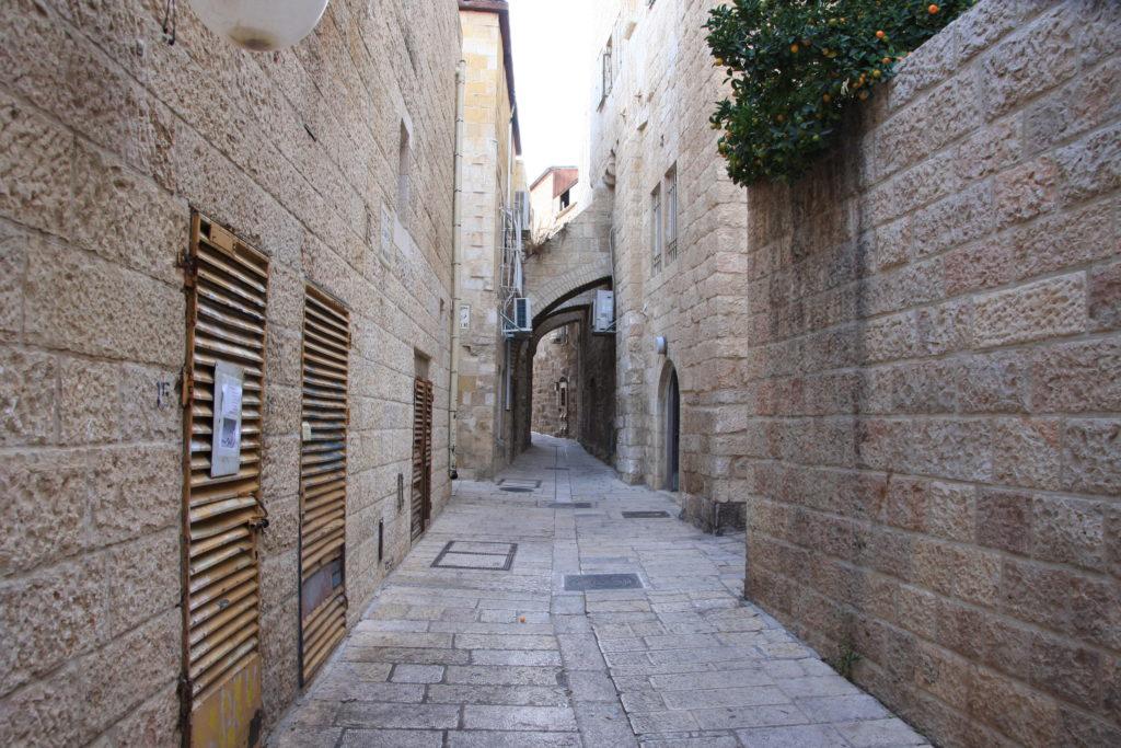 Иерусалим - обитаемый Старый город