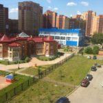 Новый детский сад и дворец спорта в жилом квартале